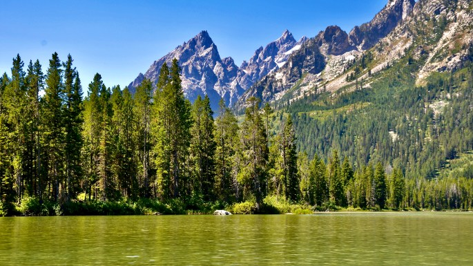 String Lake ~ Grand Teton National Park