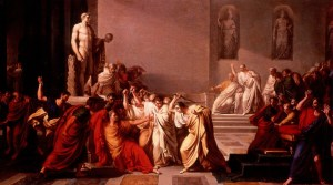 Painting of the Death of Caesar