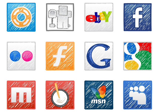 Today's web harvest: social media icon sets