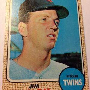 1968 Topps #91 Jim Ollom