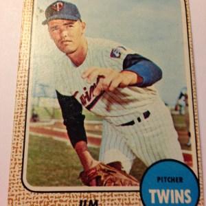 1968 Topps #64 Jim Merritt