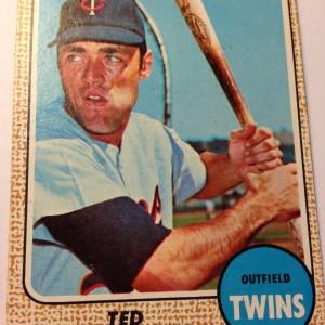 1968 Topps #28 Tim Uhlaender