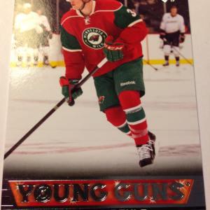 2013-14 Upper Deck #233 Charlie Coyle Young Gun