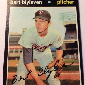 1971 Topps #26 Bert Blyleven