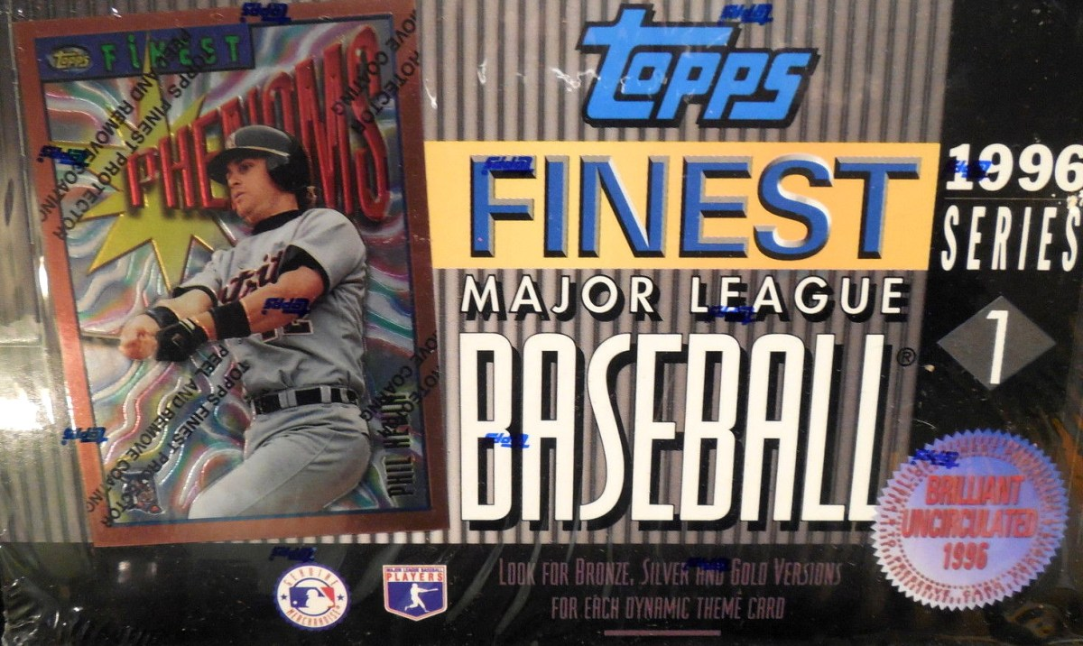 1996 Topps Finest Series 1