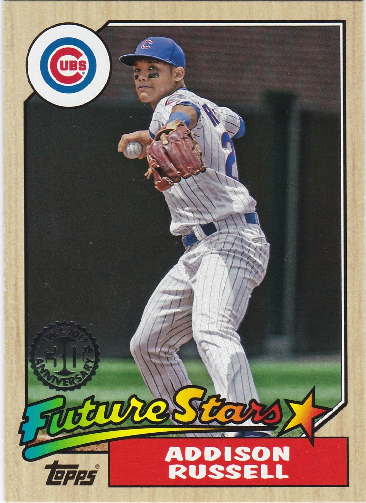 2017 Topps 1987 Future Star Addison Russell