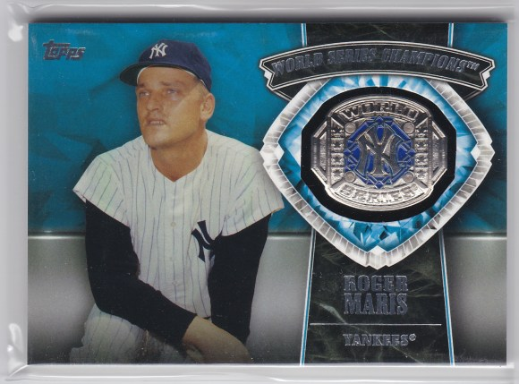 2014 Topps Update World Series Champions Manufactured Rings Roger Maris