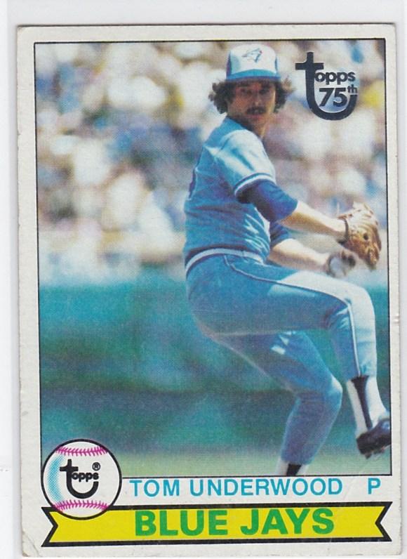 1979 Topps Buyback Tom Underwood