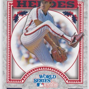 2014 Topps Update World Series Heroes Steve Carlton