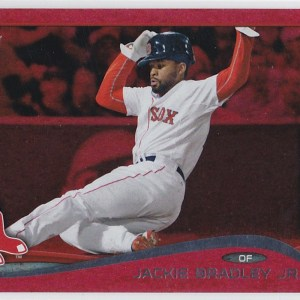 2014 Topps Update Red Sparkle Jackie Bradley Jr.