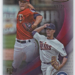 2016 Topps Gold Label Class 3 Red /25 Jose Berrios RC
