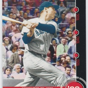 2015 Topps Baseball History Ted Williams