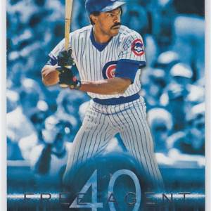 2015 Topps Free Agent 40 Andre Dawson