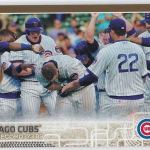 2015 Topps Gold /2015 Chicago Cubs