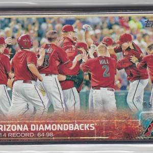 2015 Topps Framed /10 Arizona Diamondbacks