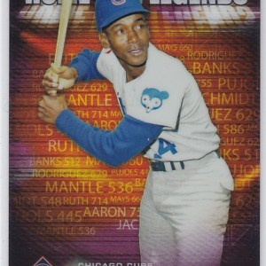 2012 Topps Chrome Prime 9 Home Run Legends