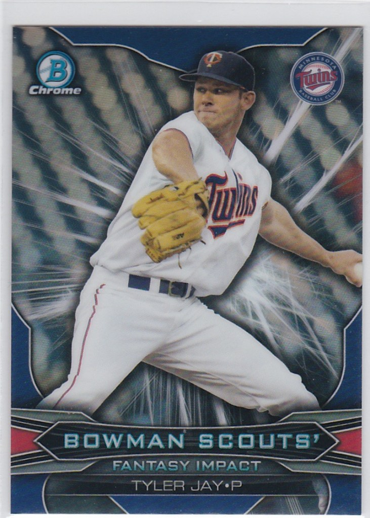 2015 Bowman Draft Scouts Fantasy Impact Refractor Tyler Jay