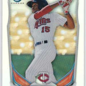 2014 Bowman Scout Top 5 Prospects Mini Chrome Refractors Byron Buxton