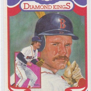 2001 Donruss Diamond Kings Reprints Wade Boggs