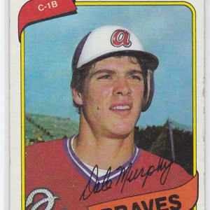 1980 Topps Dale Murphy