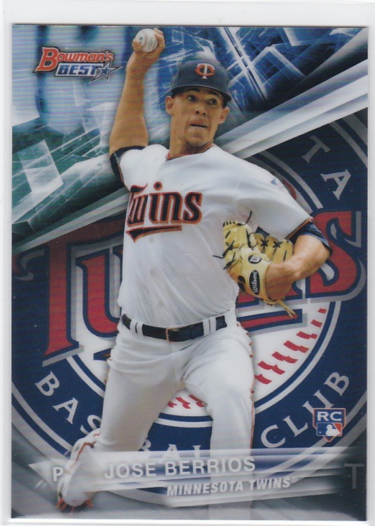 2016 Bowman's Best Refractor Jose Berrios RC