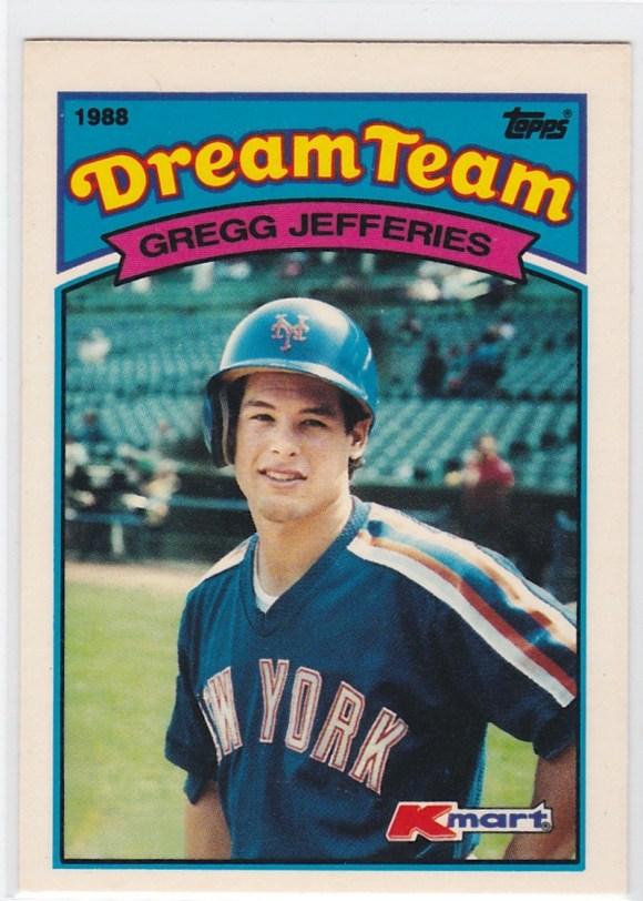 1989 K-Mart Dream Team Gregg Jefferies