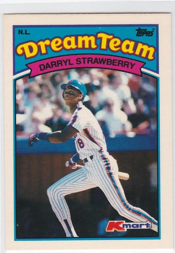 1989 K-Mart Dream Team Darryl Strawberry