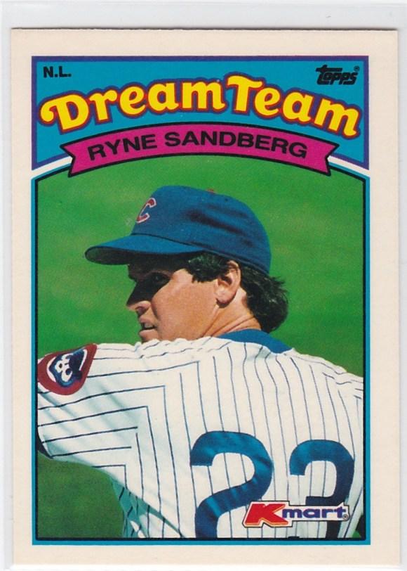1989 K-Mart Dream Team Ryne Sandberg