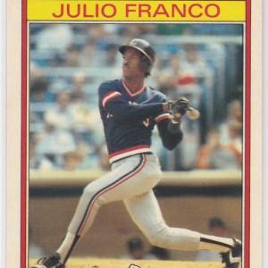 1986 Kay Bee Superstars Julio Franco