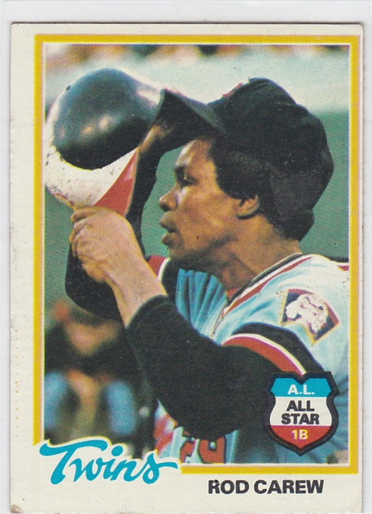 1978 Topps Rod Carew