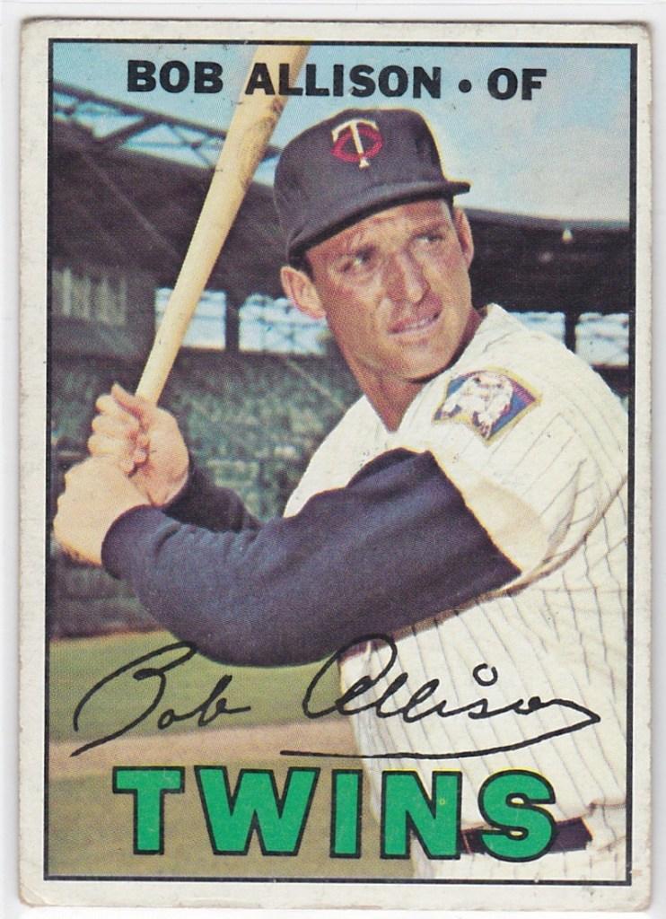1967 Topps Bob Allison