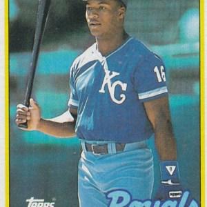 1989 Topps Bo Jackson