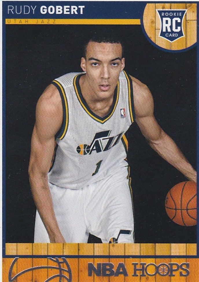 2013-14 NBA Hoops Rudy Gobert RC