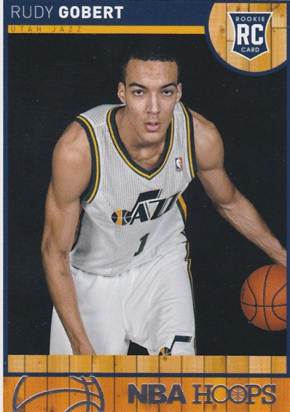 2013-14 Panini NBA Hoops Rudy Gobert RC