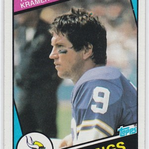 1984 Topps Tommy Kramer