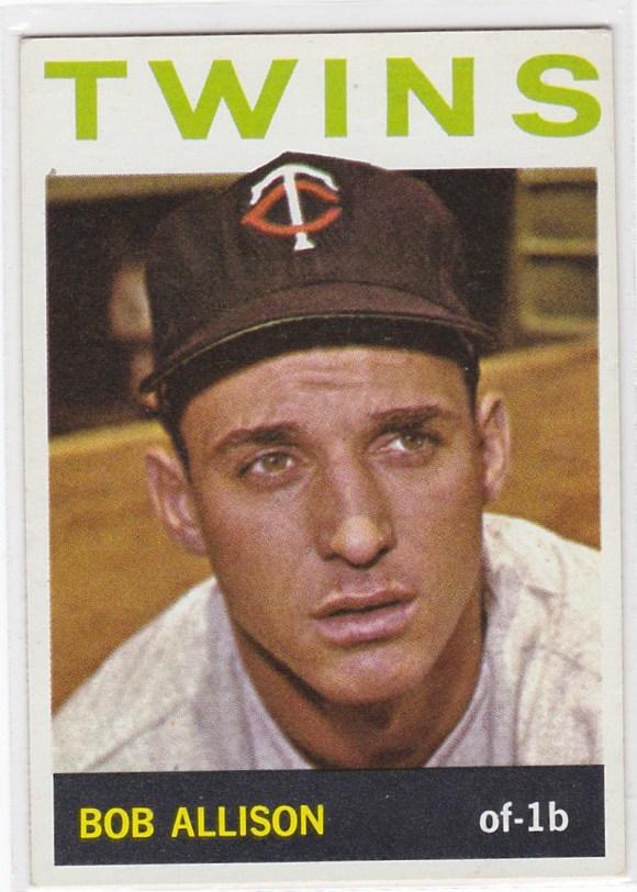 1964 Topps Bob Allison