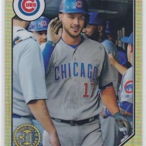 2017 Topps Chrome 1987 Topps Baseball Kris Bryant