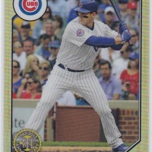 2017 Topps Chrome 1987 Topps Baseball Anthony Rizzo