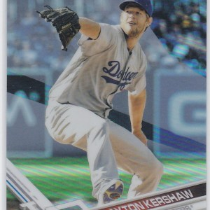 2017 Topps Chrome Refractor Clayton Kershaw
