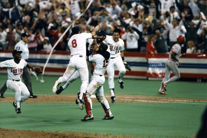 1987 Minnesota Twins World Series Champions
