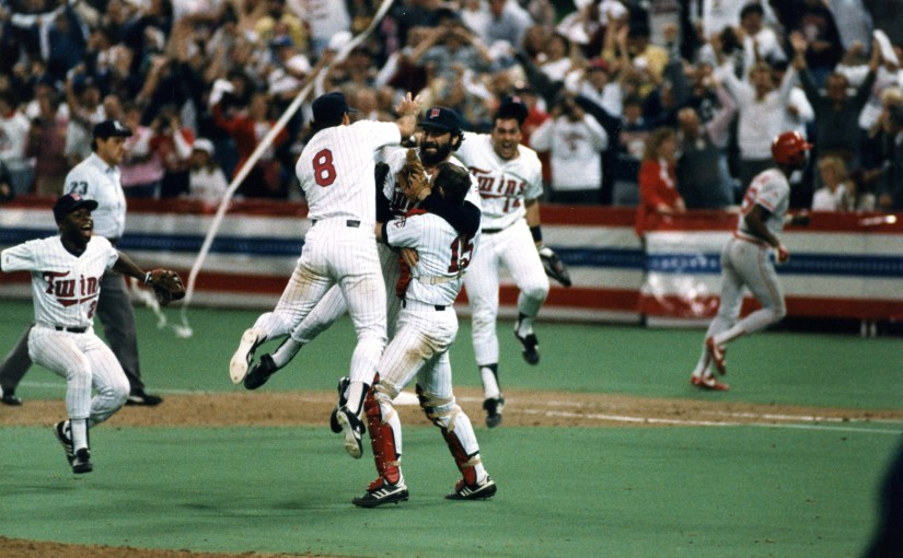 1987 Minnesota Twins World Series Champions