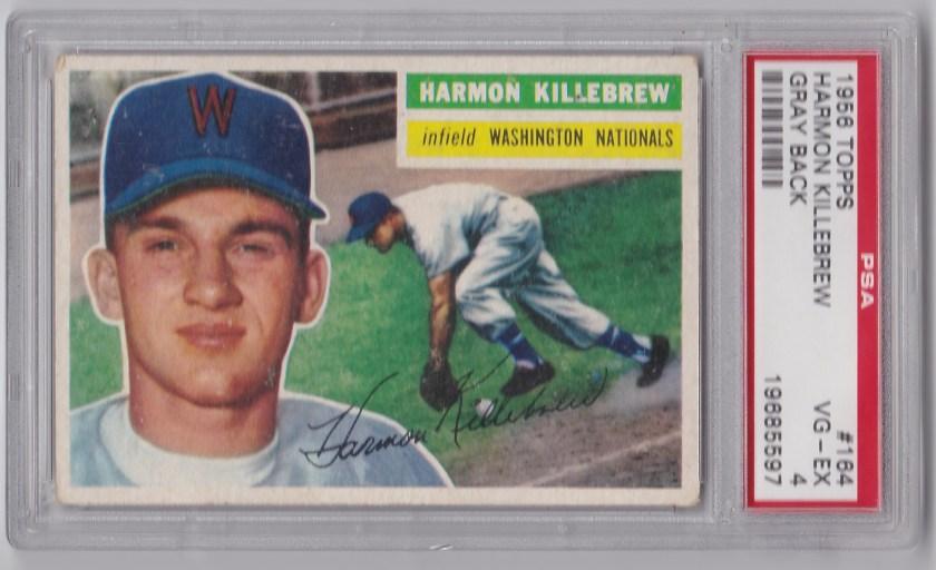 1956 Topps #164 Harmon Killebrew