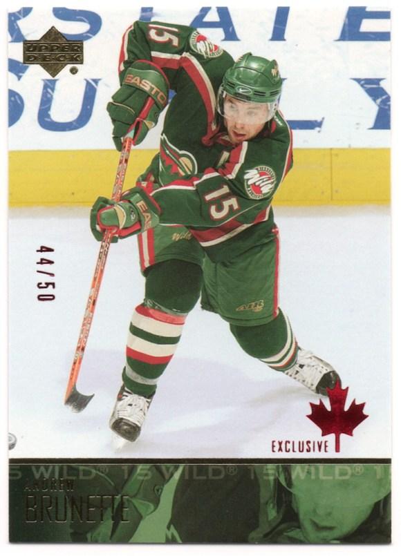 2003-04 Upper Deck Canada Exclusives #94 Andrew Brunette /50