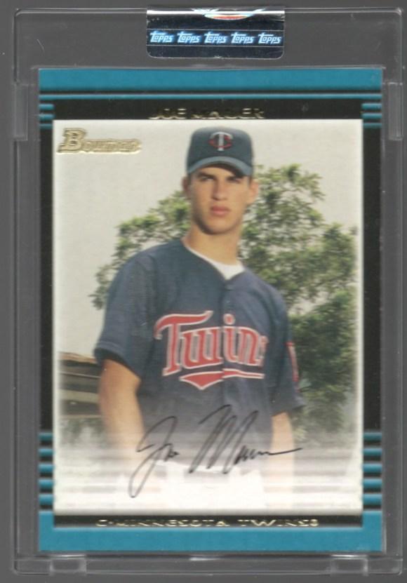 2002 Bowman #379 Uncirculated Joe Mauer