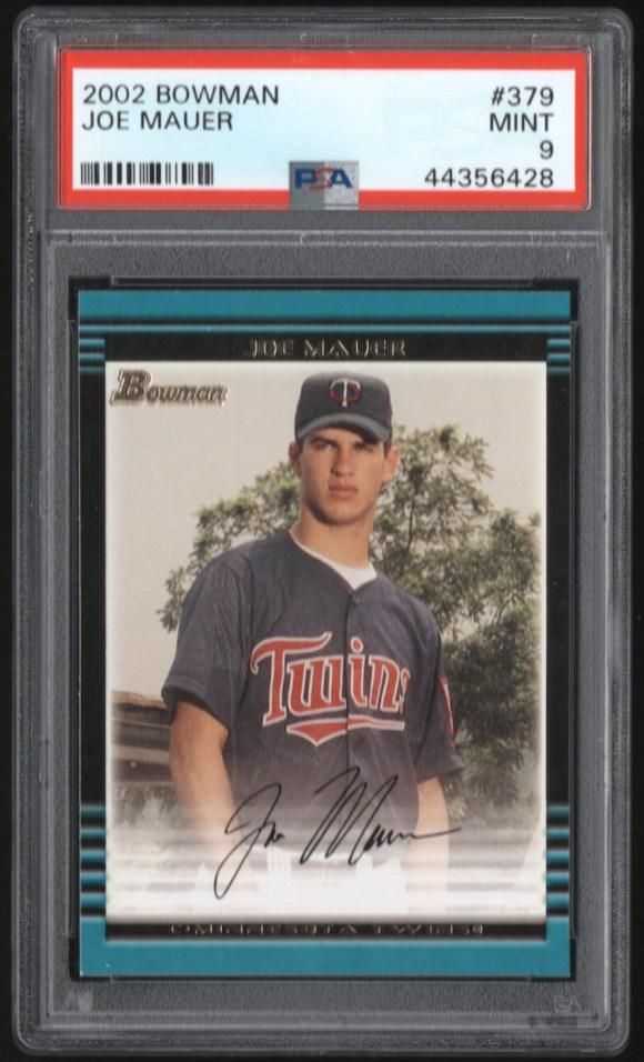 2002 Bowman #379 Joe Mauer