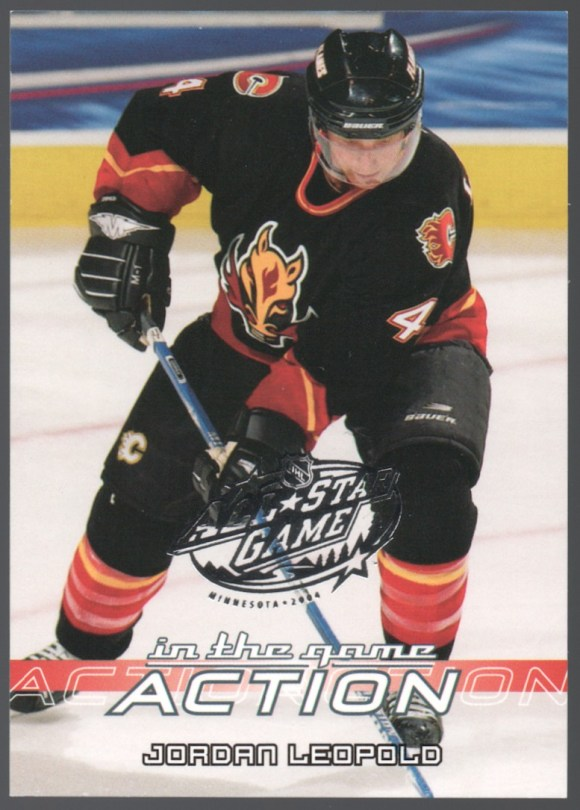 2003-04 In The Game Action All-Star Game #48 Jordan Leopold