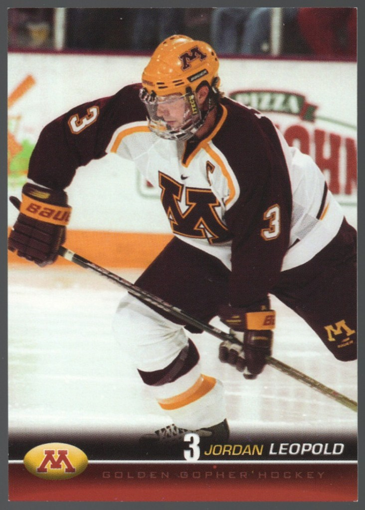 2001-02 Minnesota Golden Gophers Jordan Leopold