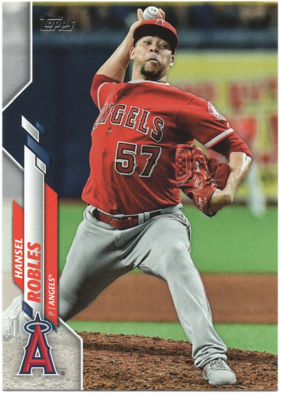 2020 Topps Series 1 #339 Hansel Robles