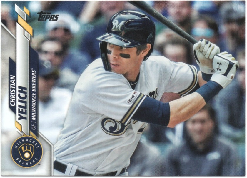 2020 Topps Series 1 #200 Christian Yelich