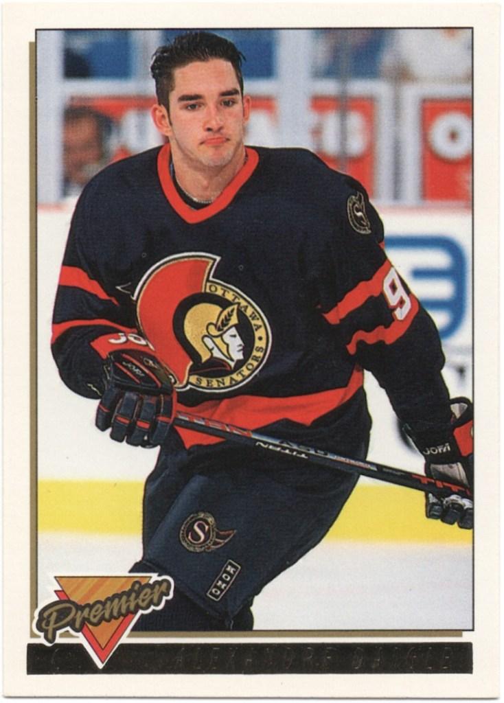 1993-94 Topps Premier Gold #405 Alexandre Daigle